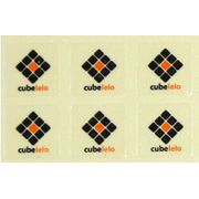 Cubelelo Logo Sticker- Set of 6
