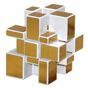 ShengShou Mirror Cube (White Body) Golden