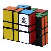 WitEden 3x3x4 Camouflage Cube Black