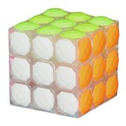 YJ Clark Diamond 3x3 Tiled White