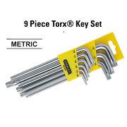 Stanley 9 Pc Torx 92-625- Key Set