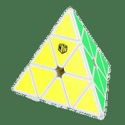 QiYi X-Man Bell Magnetic Pyraminx White