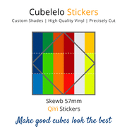 Cubelelo Skewb 57mm QiYi Stickers