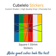 Cubelelo Square-1 55mm Stickers