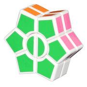 DianSheng 2 Layer Super Square-1 Star White