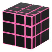 FangGe Mirror Cube Pink Body Black Sticker