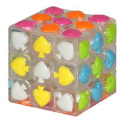 YJ Spade Cube White