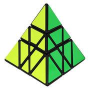 YJ Tower Pyraminx Black