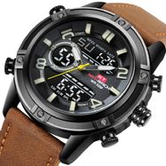 007ac6837 ... KAT-WACH - Now in India - Men s Brown Chronograph Analog Digital Watch  KT1807