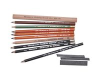 General's Classic Drawing & Sketching Pencil Kit - Art Set of 13 Pieces