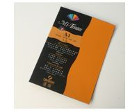 Canson Mi-Teintes 160 GSM A4 Pack of 5 Honeycomb & Fine Grain Sheets - Cadmium Yellow