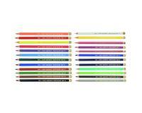 Koh-I-Noor Polycolor Artist's Coloured Pencils - Assorted - Set of 24