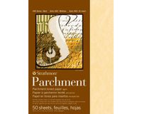 Strathmore 400 Series Aged Parchment 8.5''x11'' Smooth 89 GSM Paper Polypack of 50 Sheets