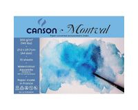 Canson Montval 300 GSM A4 Pack of 10 Fine Grain Sheets