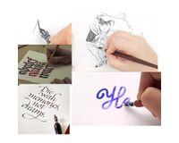 Manuscript Leonardt Calligraphy Nibs Set of 5