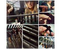 Escoda Primera Teijin Synthetic Hair Brush - Series 2350 - Mottler Single Thickness - Matt-Varnished Wooden Paintbrush-Style Handle - Size: 30