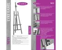 MABEF Beech Wood Basic Lyre Easel - A Frame
