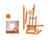 "MABEF Beech Wood ""Studio"" Miniature Table Easel"
