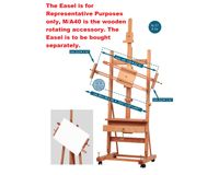 MABEF Beech Wood Revolving Painting Accessory
