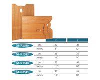 MABEF Rectangular Wooden Palette - 35 x 45 cm