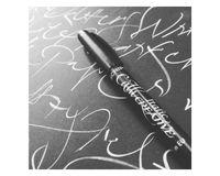 Manuscript Callicreative White Italic Markers - Pack of 2 - Medium - 2.5 mm