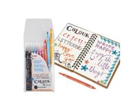 Manuscript Callicreative Duotips, Double Ended Markers For Hand-Lettering - 10 Assorted Colours