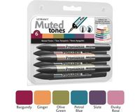 Letraset ProMarkers Set of 6 Muted Tones