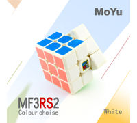 MoFang JiaoShi MF3RS2 3x3 White