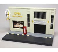 Diorama OPEL Garage