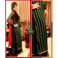 Ethnic Green Dress