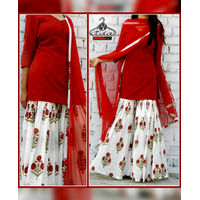 Trendy Sharara Dress
