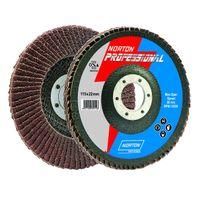 Norton Professional 4 inch Flap Disc Grit 120