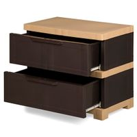Nilkamal Chester Storage Drawer Series -12 (WBN) - 1 Pc In 1 Carton