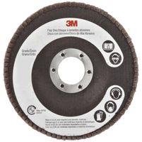 3M CubitronTM Radial Flap Discs, 747D, P60,114.3mm x 22mm