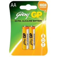 Godrej Primary Battery AA Ultra Alkaline- Card pack of 2