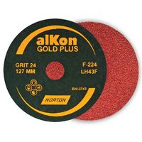 Alkon Gold Coated Fibre Discs 4 Inch 102x16.00  Grit 120