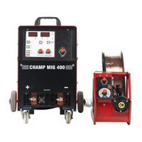 Ador Welding CHAMP MIG 400 A Mig/Mag Welding Outfits (INVERTER TECHNOLOGY)