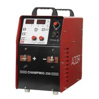 Ador Welding CHAMP MIG 250 A Mig/Mag Welding Outfits (INVERTER TECHNOLOGY)