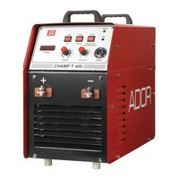 Ador Welding  CHAMP T400  (Inverter Base)