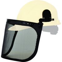 Karam ES51 helmet attachable face shield with clear polycarbonate visor