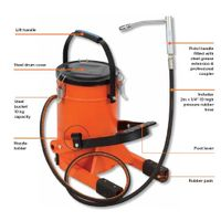 Groz Foot Operated Grease Pump FOP/10A