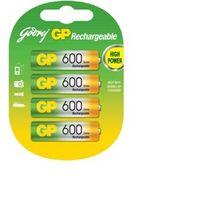 Godrej AA 600mAh - Pack of 4
