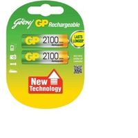 Godrej AA 2100mAh Low Self Discharge Rechargeable Batteries