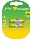 Godrej AAA 600mAh Rechargeable Batteries