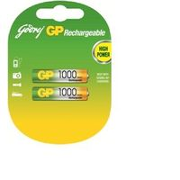 Godrej AAA 1000mAh Rechargeable Batteries