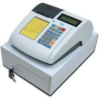 TVS-E PT 2124 K ECR Terminals Cash Register Optional with Inbuilt Battery Back-up.