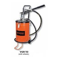 Groz Bucket Grease Pumps With wheels, Capacity 10 kg VGP/10