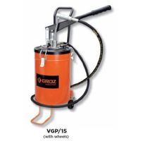 Groz Bucket Grease Pumps With wheels, Capacity 15 kg VGP/15