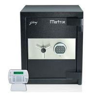 Godrej Matrix 3016 Electronic I-Warn Safe Home Office Locker