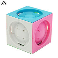 FangShi LimCube Deformed 3x3 Centrosphere Stickerless